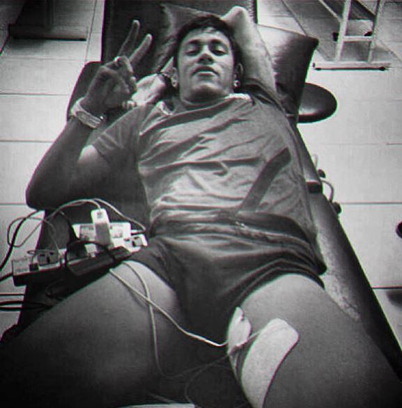 Que Mala Delicia Neymar Faz Tratamento Muscular E Eibe Volume