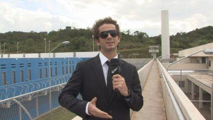 Andreoli conhece o primeiro presídio público-privado do Brasil