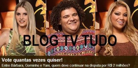 BLOG TV TUDO ACESSE E VOTE