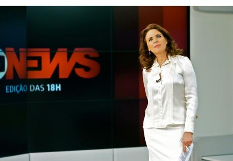 Leilane Neubarth Jornal da Globo News abre