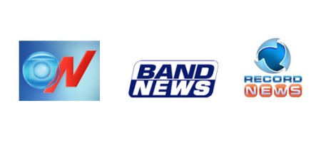 GLOBO NEWS RECORD NEWS BAND NWES news